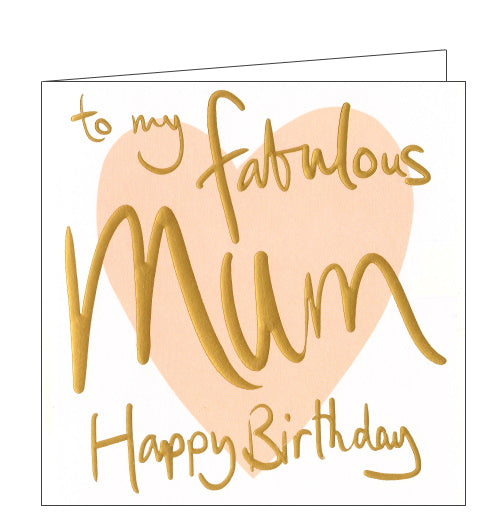 Lucilla Lavender fabulous mum birthday card
