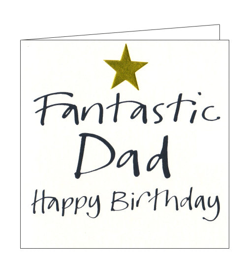 Lucilla Lavender fantastic dad birthday card