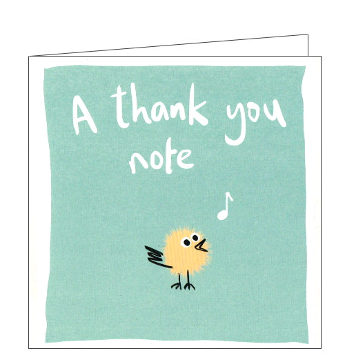 Lucilla Lavender thank you note card