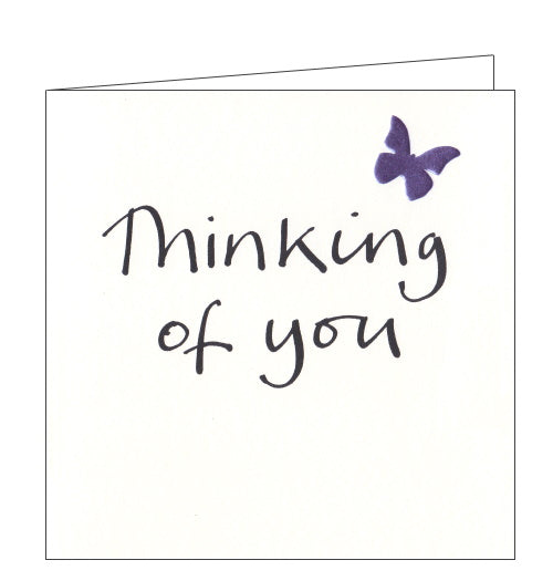 Lucilla Lavender thinking of you card