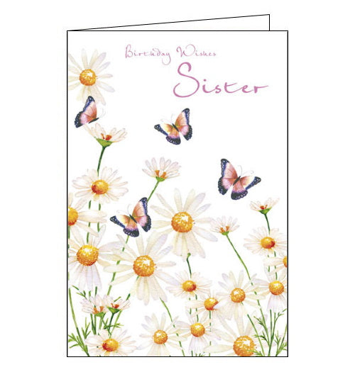 Nigel Quiney butterflies sister birthday card