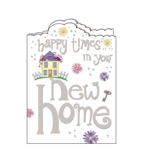 Noel Tatt happy times in your new home card