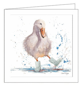 Noel Tatt Bree Merryn blank cards deirdre the duck art illustrated card Nickery Nook