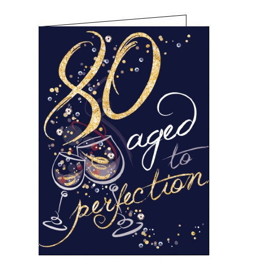 Noel Tatt aged to perfection 80 today 80th birthday card Nickery Nook