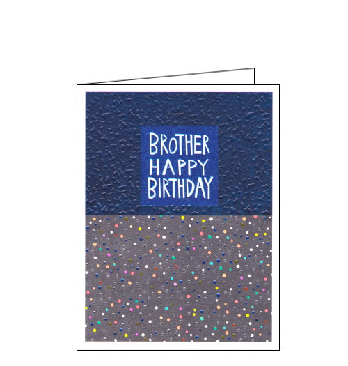 Paper Salad brother Birthday card
