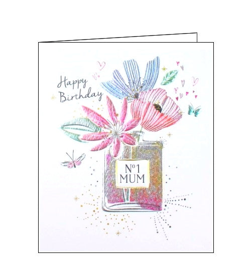 Paperlink Number one Mum Happy Birthday card Nickery Nook