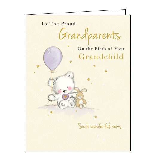Piccadilly Goldmark new grandchild new baby card Nickery Nook