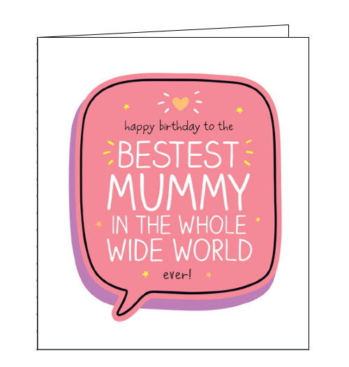 Pigment Happy Jackson bestest mummy birthday card