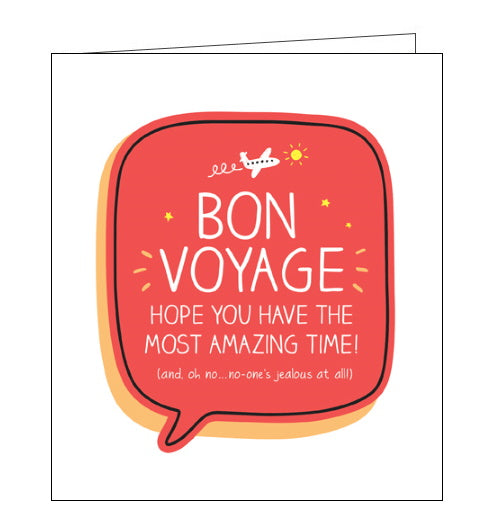 Pigment Happy Jackson bon voyage card