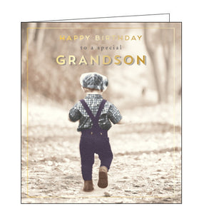 Pigment love unlimited grandson birthday card