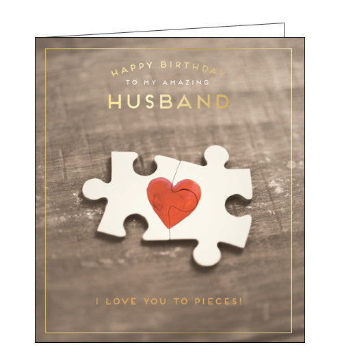 Pigment love you to pieces husband birthday card