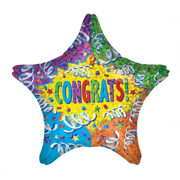 Congratulations - Helium Filled Balloon