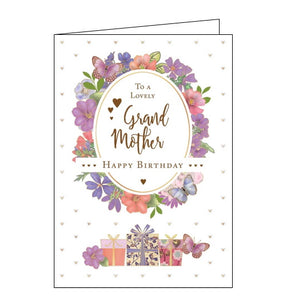 Quire cards grandmother birthday card