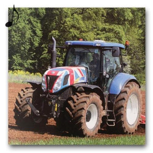 Really Wild Cards tractor sound, blank, greetings, birthday card Nickery Nook