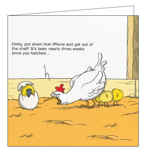 Redback Wulffmorgenthaler hatchling iphone funny card