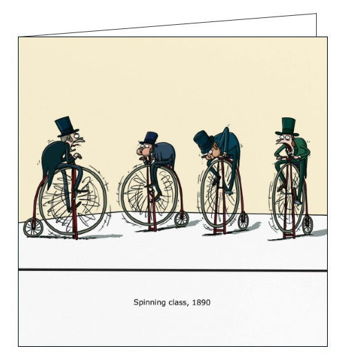 Redback Wulffmorgenthaler spinning class 1890 funny card