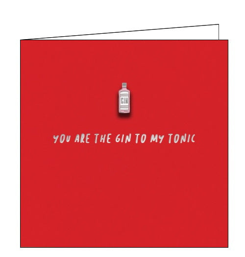 Redback Pinata enamel pin you are the gin to my tonic card Nickery Nook