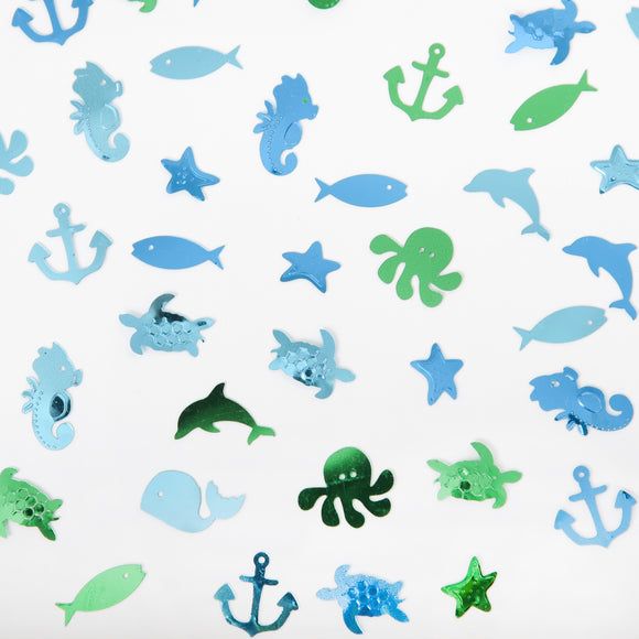 Sea Life Table Scatter