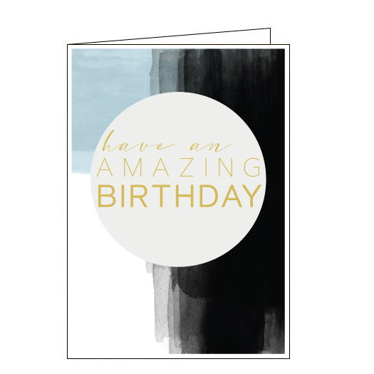 Think of Me for him have an amazing birthday card