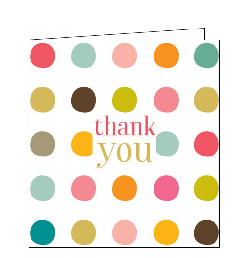 Think of Me thank you card