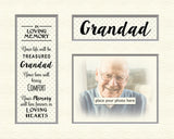 Tidybirds Memory Mounts- In loving memory of Grandad