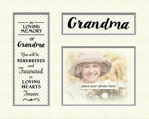 Tidybirds memory mounts- In  loving memory of Grandma
