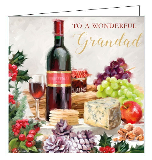 To A Wonderful Grandad - Christmas Card