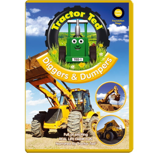 Diggers & Dumpers full of exciting real life farm fun.