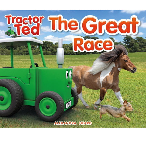 Tractor Ted reading book great race