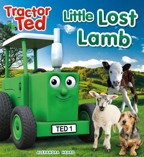 Tractor Ted reading book lost lamb