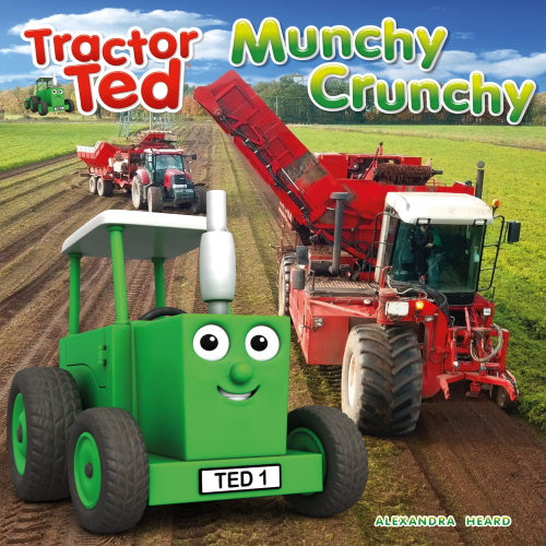 Tractor Ted reading book munchy crunchy