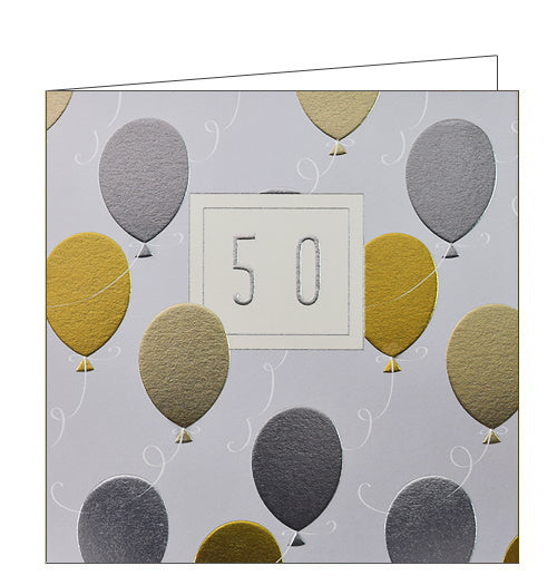 Wendy Jones Blackett 50th birthday card