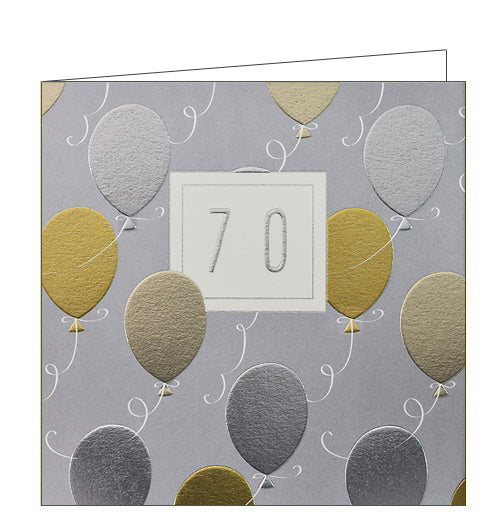 Wendy Jones Blackett 70th birthday card