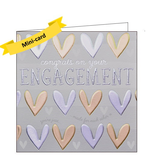 Wendy Jones Blackett engagement card