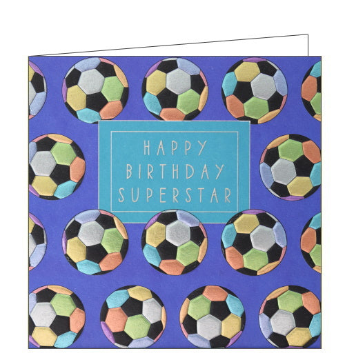 Wendy Jones Blackett football birthday card