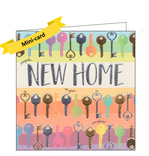 Wendy Jones Blackett new home card