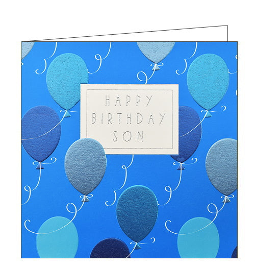 Wendy Jones Blackett son birthday card for son