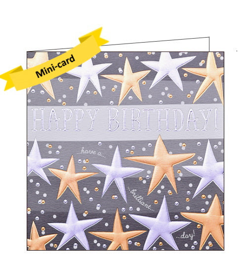Wendy Jones Blackett stars birthday card