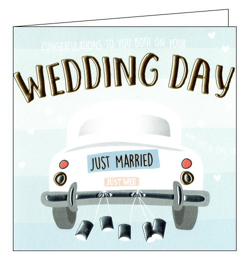 Wendy Jones blackett car wedding card