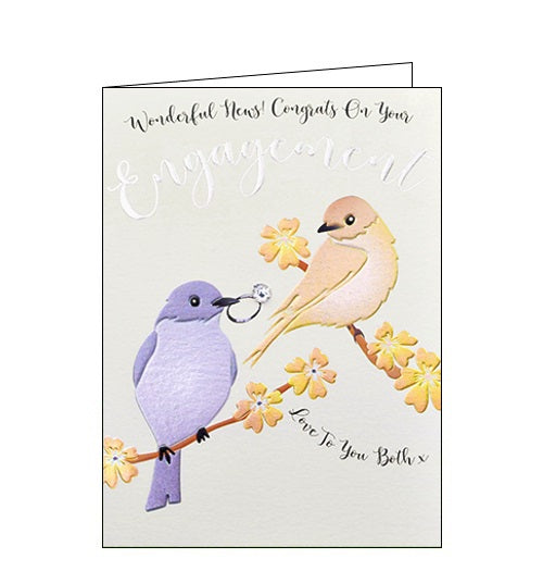Wendy Jones Blackett congrats on your engagement card Nickery Nook