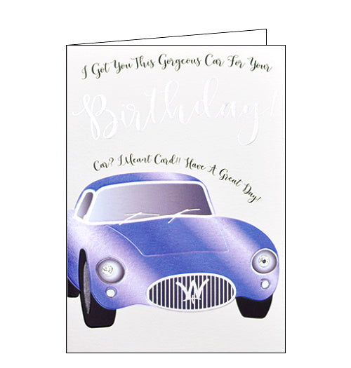 Wendy Jones Blackett got you this gorgeous car for your birthday card Nickery Nook