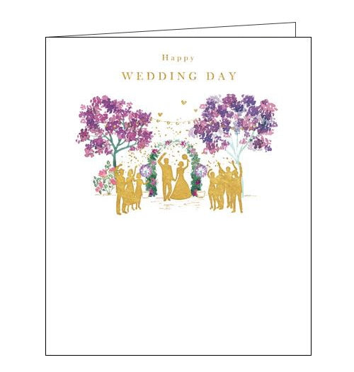 Woodmansterne Beth Lewton Congratulations Wedding Day card Nickery Nook