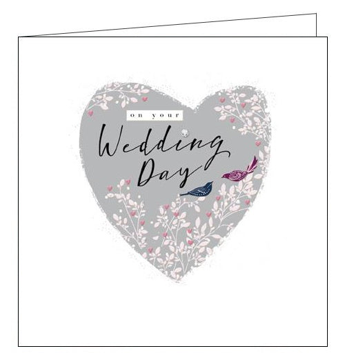 Woodmansterne Claire Hocking on your wedding day card Nickery Nook