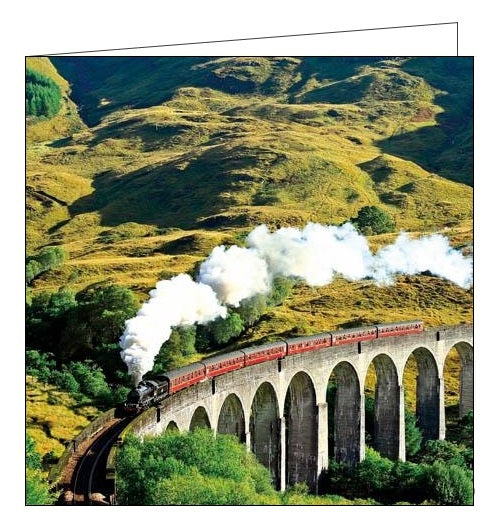 Woodmansterne Framed steam train photographic birthday card Nickery Nook