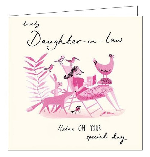 In Law Birthday Cards