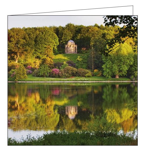 Woodmansterne National Trust temple of apollo sourhead blank card Nickery Nook