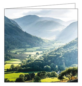 Woodmansterne National Trust thorneythwaite farm cumbria blank card Nickery Nook