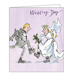 Woodmansterne Quentin Blake Congratulations on your wedding day first day Nickery Nook front