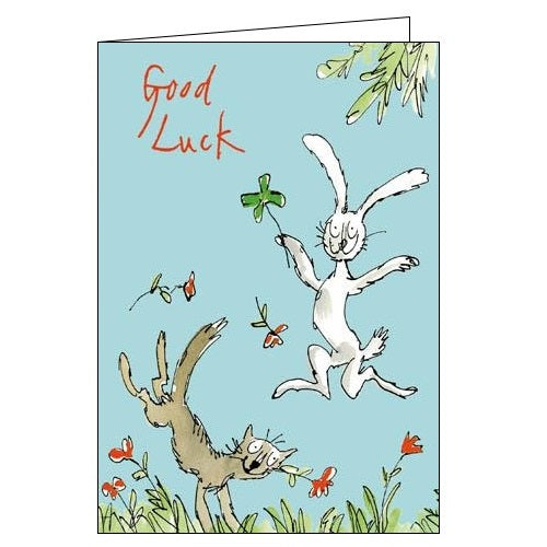 Woodmansterne Quentin Blake Good Luck full of luck Nickery Nook
