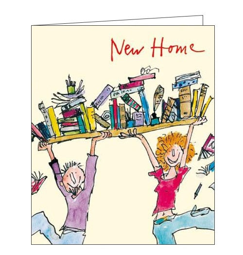Woodmansterne Quentin Blake illustrated new home card from Nickery Nook